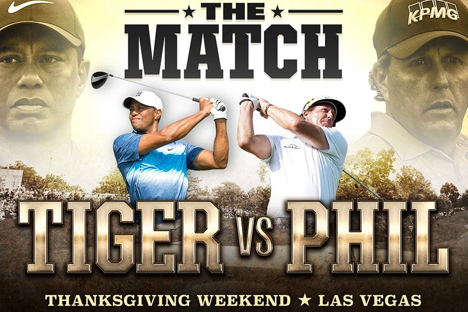 Tiger vs Phil